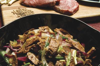 Beef Fillet or Rump Stir Fry