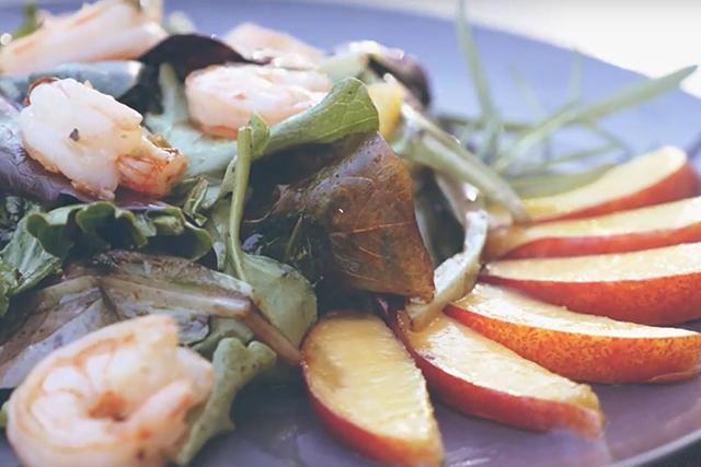 Fruity Shrimp Salad