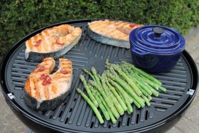 Grilled Salmon in Hoisin Marinade