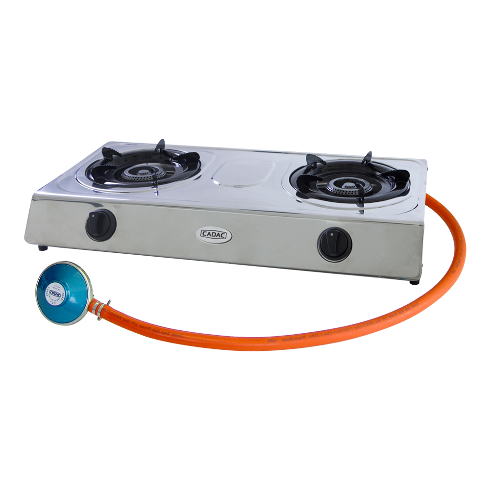 2 Plate Stainless Steel Stove