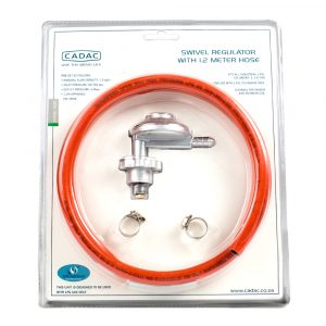 Swivel Regulator & 1,2m Hose