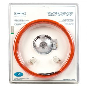 Bullnose Regulator & 1,2m Hose